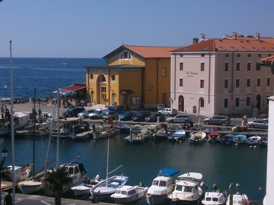 Hotel Tartini : view from our balcony