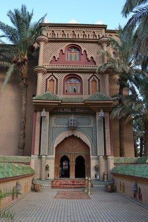 Palais Asmaa : Entrada do Hotel