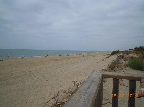 ILUNION Islantilla: La playa del hotel