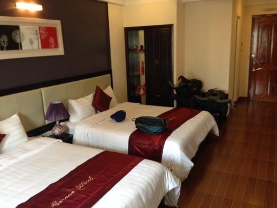 Hue Serene Palace Hotel: zimmer