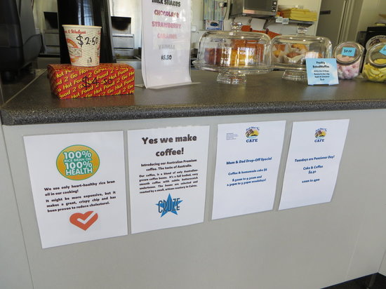 Dunk Island View Cafe : Info