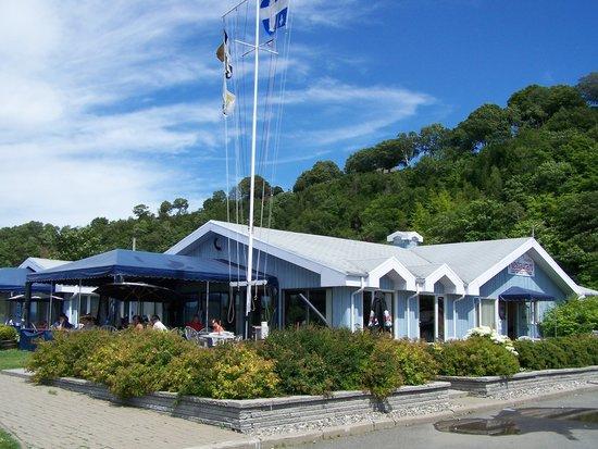 Levis, Kanada: Restaurant-Terrasse de la Marina, Parc Nautique Lévy, Lévis