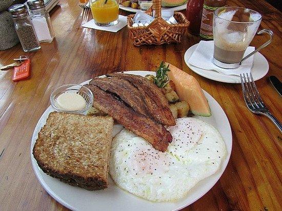 Big Sur River Inn : Vorzügliches Frühstücl