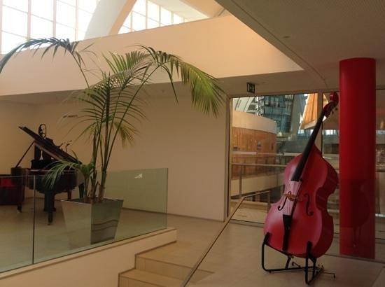 Hotel da Musica: Um aspecto do Bar...