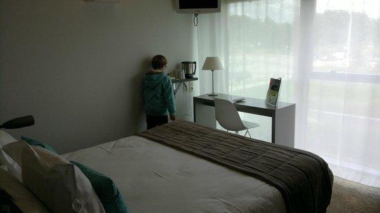 Kyriad Nantes Ouest - Saint Herblain : chambre