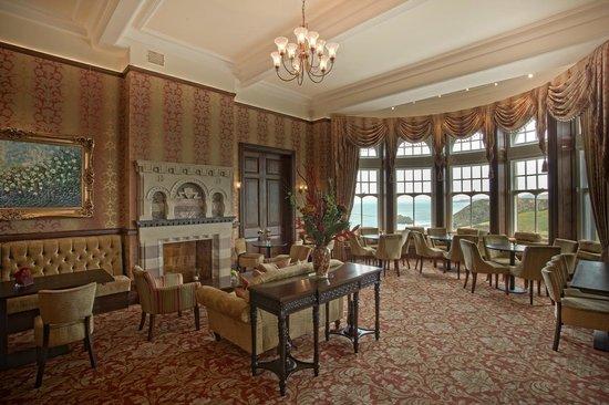 Camelot Castle Hotel: Tea Room