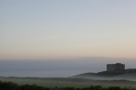 Camelot Castle Hotel: Camelot in Fog