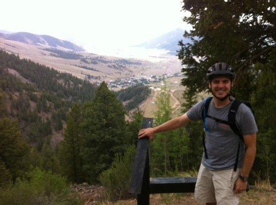 Bachelor Loop: Overlooking town of Creede