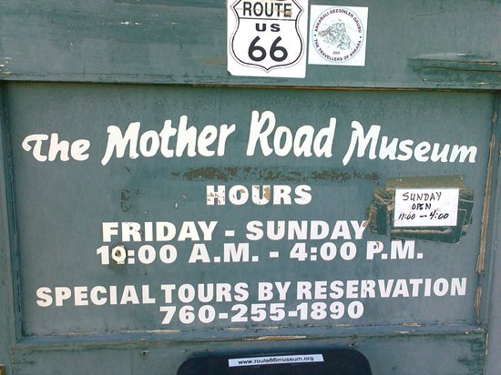 Route 66 Mother Road Museum: Worth checking ahead for opening times