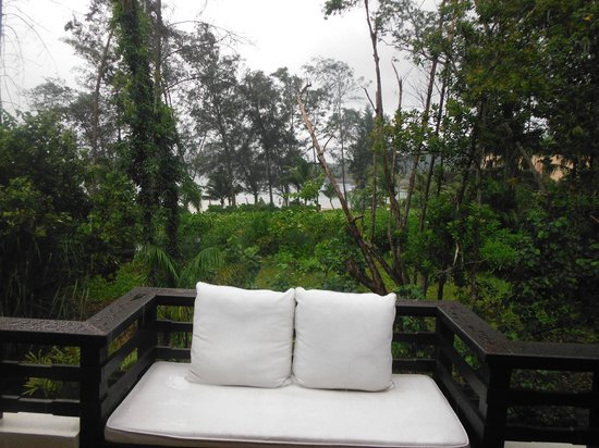 Gaya Island Resort: Our balcony view