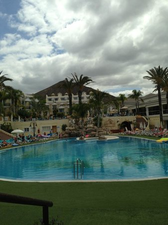 Gran Oasis Resort: view from the room