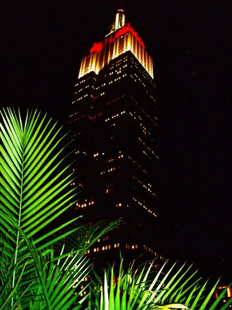 Hotel Metro : Empire State Building from rooftop bar