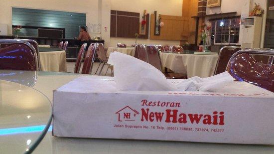 Restoran New Hawaii: Address of the restaurant