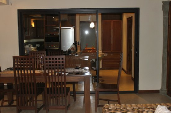 Résidence Les Villas Oasis : Dinning Area
