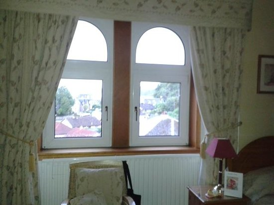 Beechgrove Guest House: Our room window.