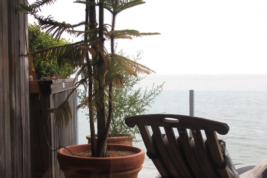 The Inn Above Tide: Balcony View