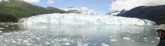 Columbia Glacier: Approaching the glacier