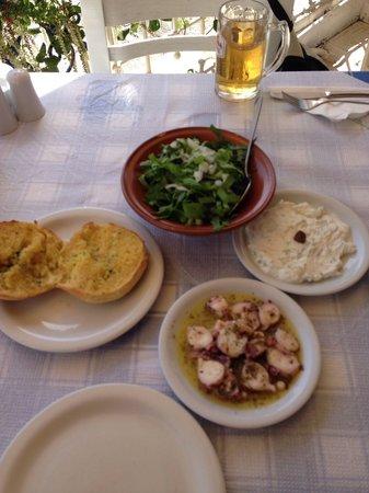 Taverna Aposperida : First course