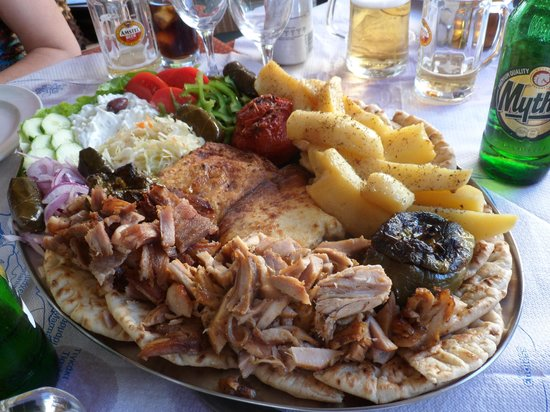 Restaurant Jumbo Style: le mixte pour 2