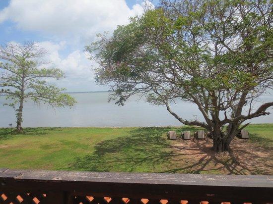 Jetwing Lagoon : vue sur le lagoon