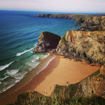 The Inn at Bedruthan: Across the road within 5 minutes walk.