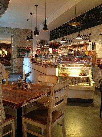 KRONE, kitchen & coffee: Blick ins Innere