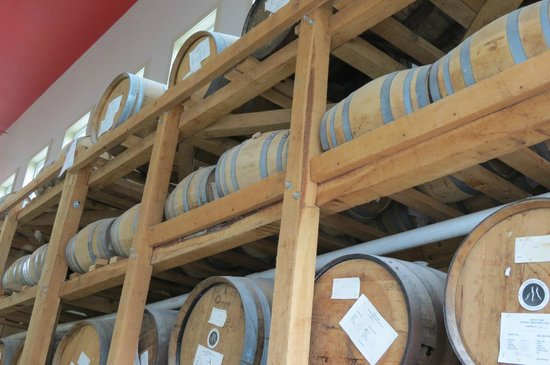 Finger Lakes Distilling Company: Aging