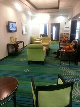 Holiday Inn Express Stroudsburg - Poconos: front lobby