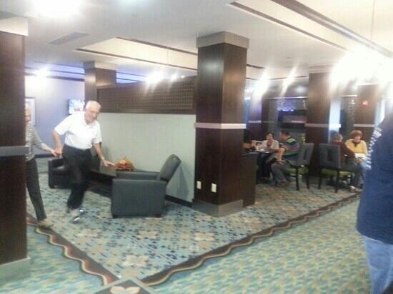 Holiday Inn Express Stroudsburg - Poconos: dining room