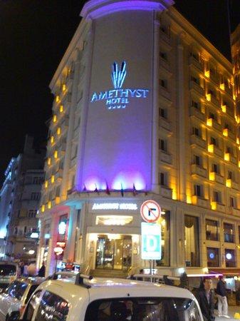 Amethyst Hotel Istanbul: la façade de l hotel
