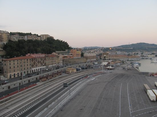 The port to the south west - Picture of Porto di Ancona, Ancona