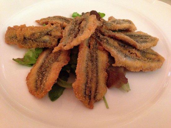 Ristorante Enoteca La Curia: Fresh sardines, cooked perfectly.