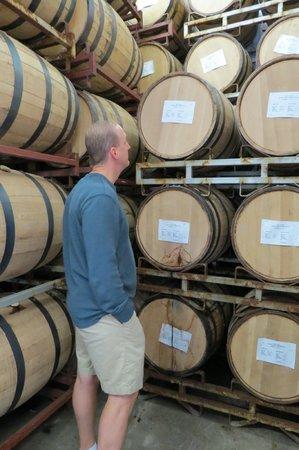 Finger Lakes Distilling Company: Tour stop