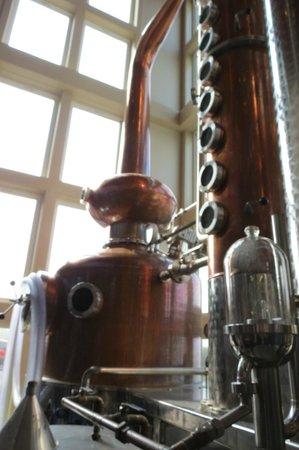 Finger Lakes Distilling Company: Interesting distilling process
