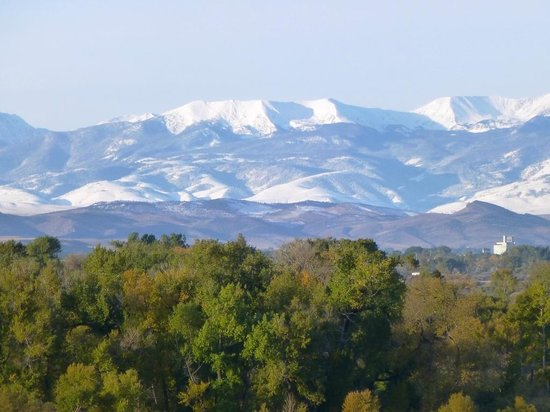 Missouri Headwaters State Park: The Rocky Mountains as Lewis and Clark first saw them