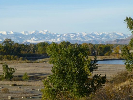 Missouri Headwaters State Park: The Rocky Mountains at Three Forks Montana