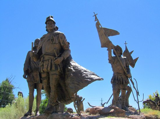 "Albuquerque Museum: Outdoor Sculpture - ""La Jornada"""