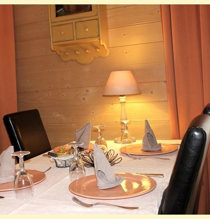 Hôtel Restaurant l'Aubergade : restaurant