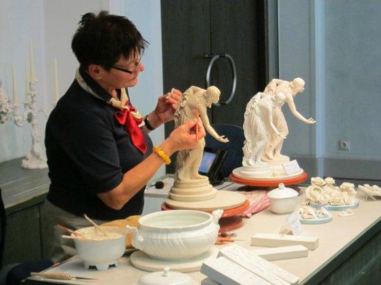 Porzellan-Manufaktur Meissen: マイセン窯工房・・・製造見学