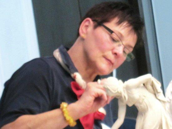 Porzellan-Manufaktur Meissen: マイセン窯工房・・・製作見学