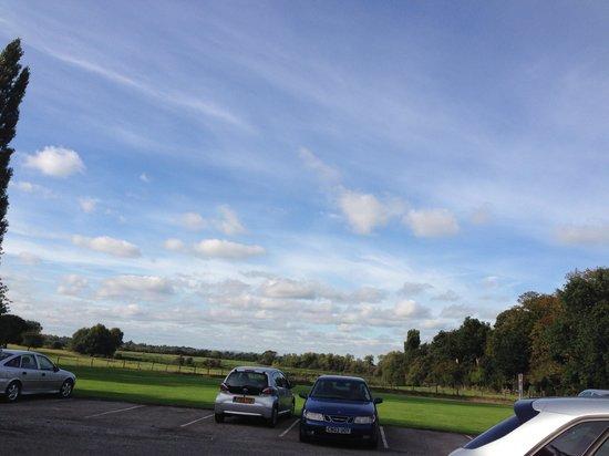 Mercure Burton Upon Trent Newton Park: lovely view