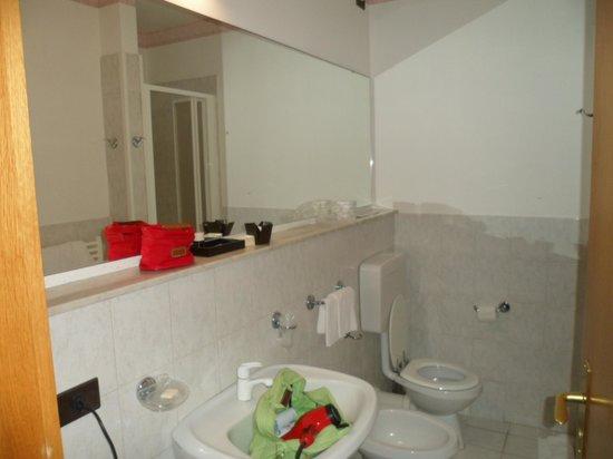 Hotel Villa Margherita: Bagno della tripla