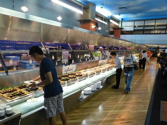 Ichiumi Sushi Seafood Buffet Restaurant