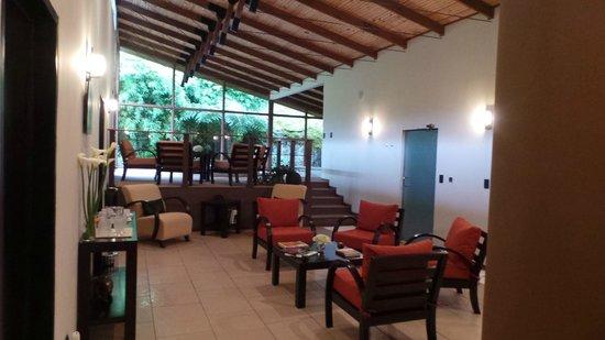 Del Rio Spa: Op het plateau de jacuzzi's
