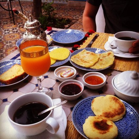 Riad Chamali: breakfast