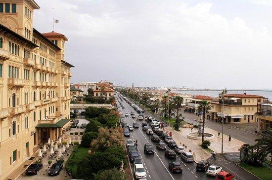 Hotel Villa Tina: Blick von Terrasse