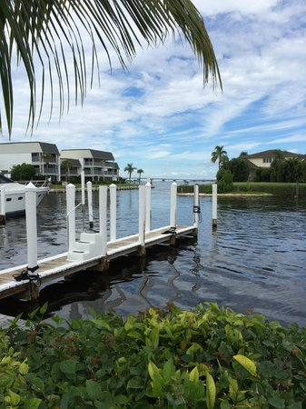 Tarpon Lodge Restaurant: view from dining room