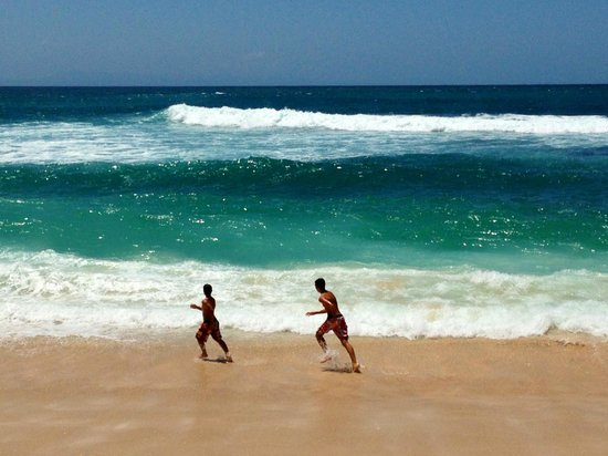 Hilton Bali Resort : mer souvent  agitée