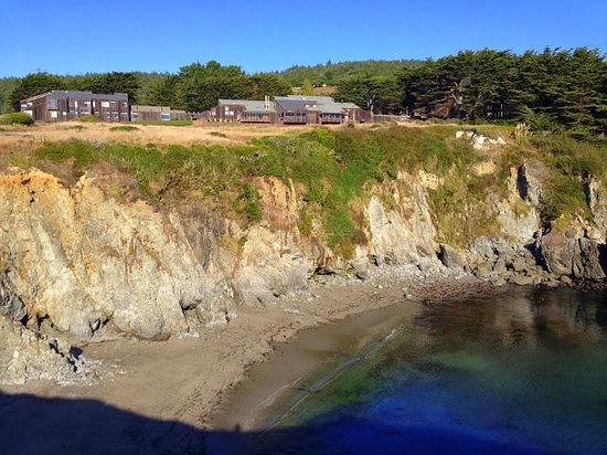 Sea Ranch Lodge: View of Lodge from bluff