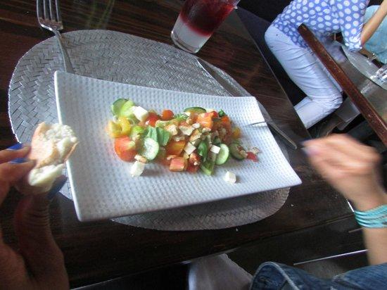 La Manzanilla: Ensalada